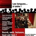 Les langues... à table !