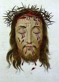 Sainte Face couronnée d'épines