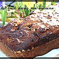 P'tit pain à la banane et aux pépites de chocolat