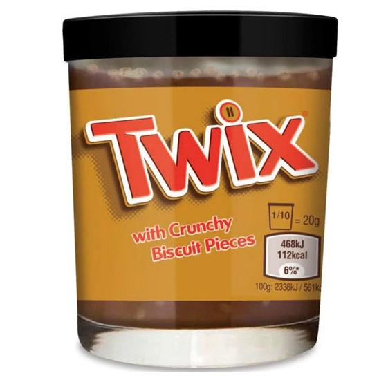 pate a tartiner Twix
