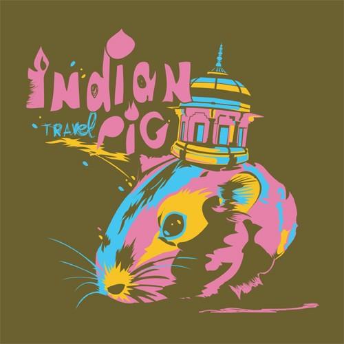 Illus. pour concours voyage et Inde chez Laspid.com