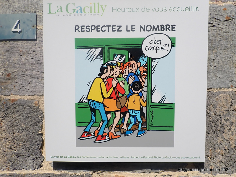 Respectez le nombre (La Gacilly, août 2020)
