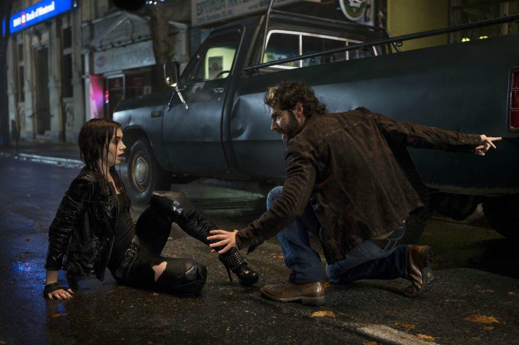 Luke and Clary City of Bones
