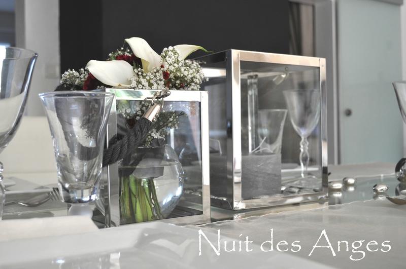 Nuit des anges décoratrice de mariage décoration de table design 012