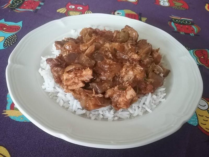 Blancs de poulet à la sauce balti aux épices1