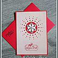 Décembre : cartes de voeux réalisées