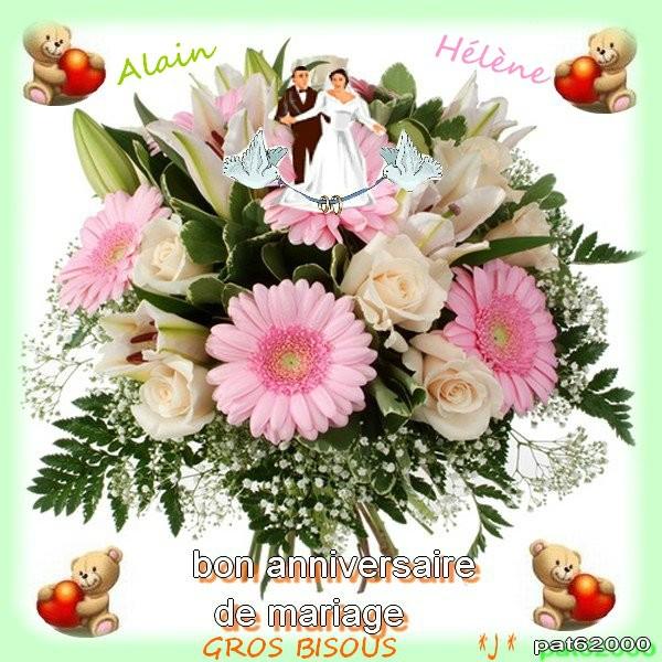 anniv Mariage bouquet oursonsLN16