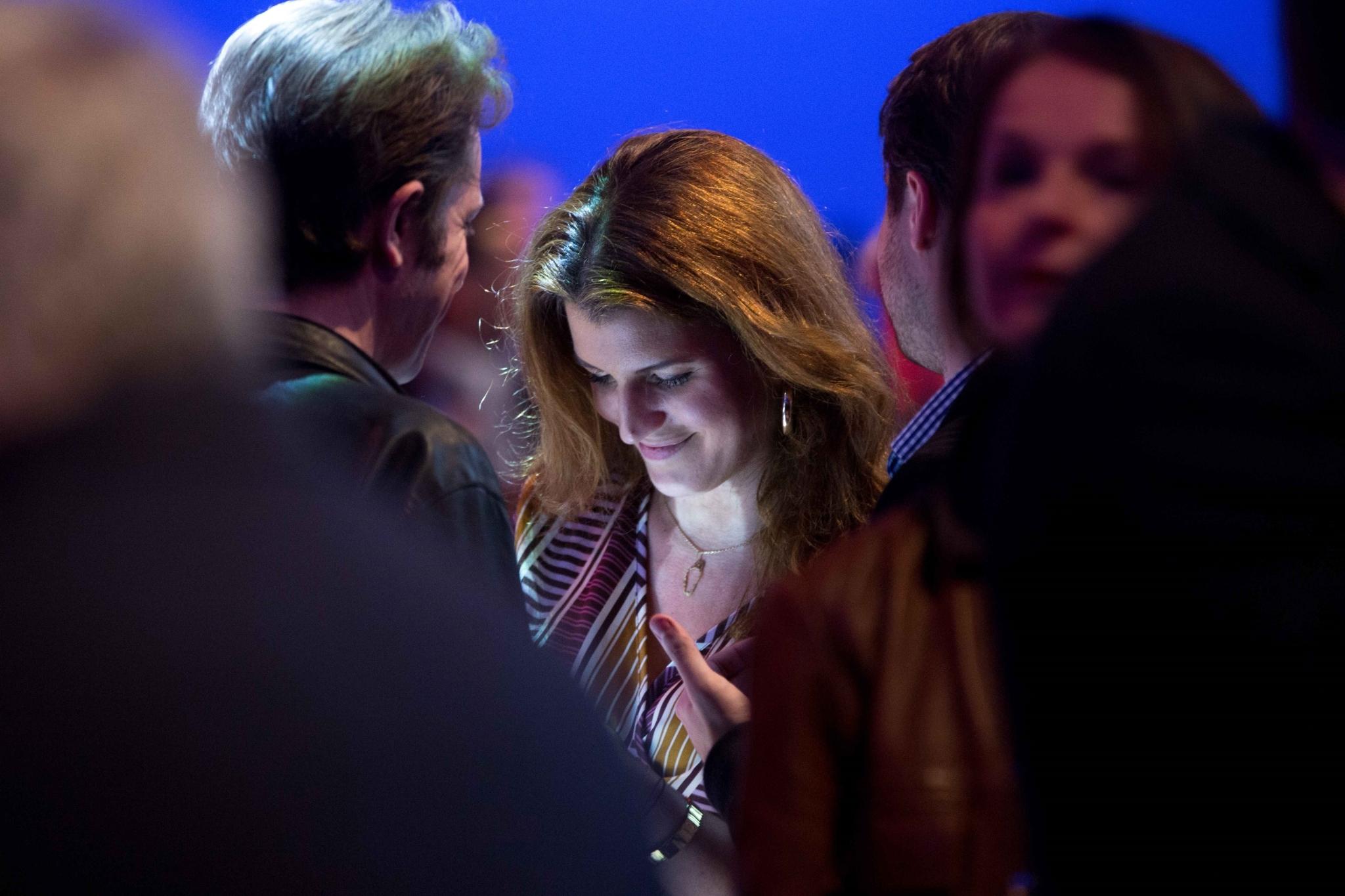 Édouard Philippe vient soutenir Nathalie Loiseau. © Michel Stoupak. Sam 30.03.2019, 16h02m40.