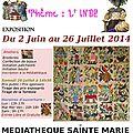 2014 jusqu'au 26 juillet Sainte Marie REUNION