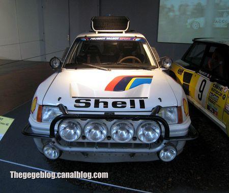Peugeot 205 turbo 16 de 1985 (Cité de l'Automobile Collection Schlumpf à Mulhouse) 02