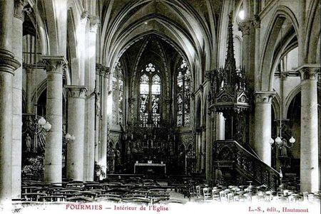 FOURMIES-L'église Saint Pierre (2)