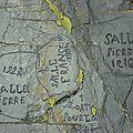 Gravures de bergers - vers le pic d'er
