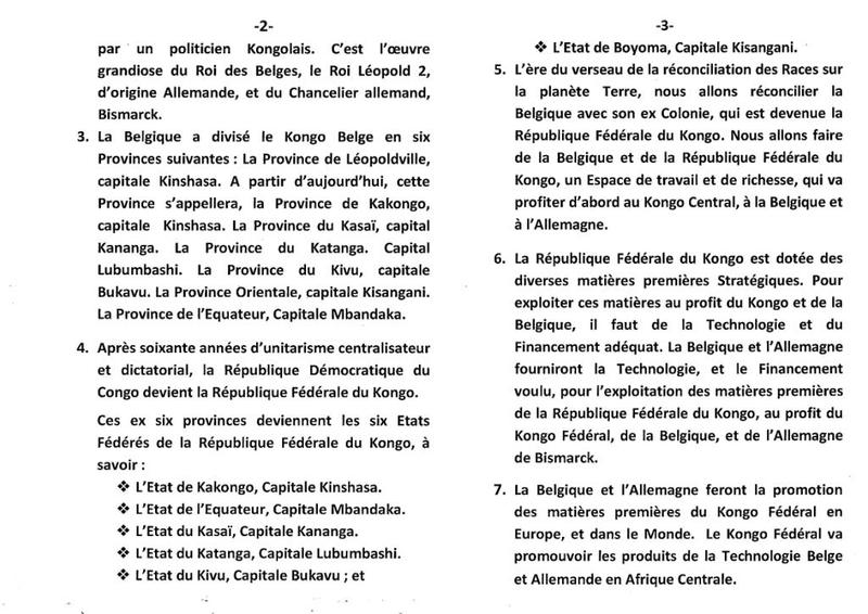 LA COOPERATION PRIVILEGIEE ENTRE LE KONGO ET LA BELGIQUE b