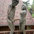 Sculptures coquines