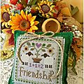 Friendship - little house needleworks