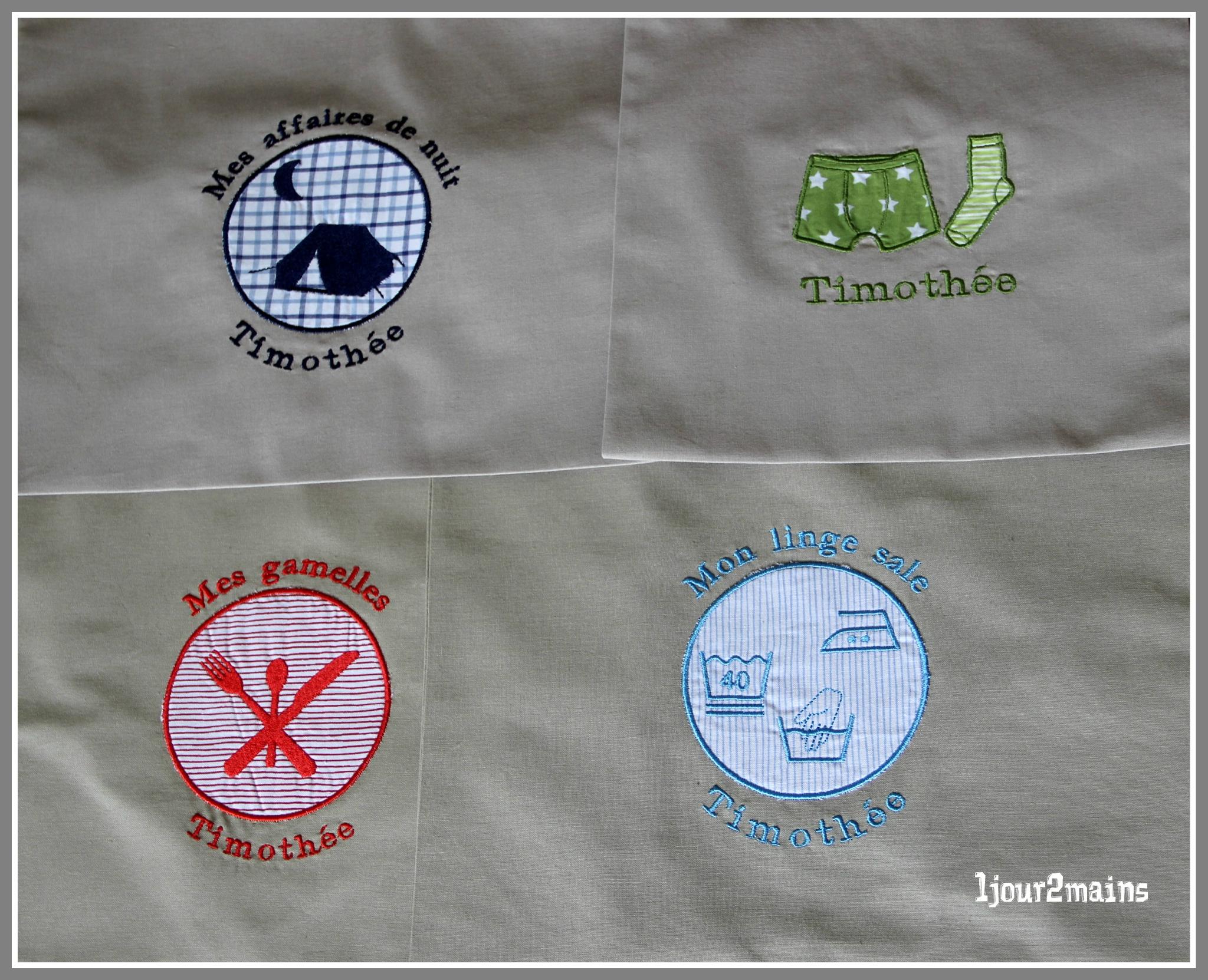 sacs scouts timothée