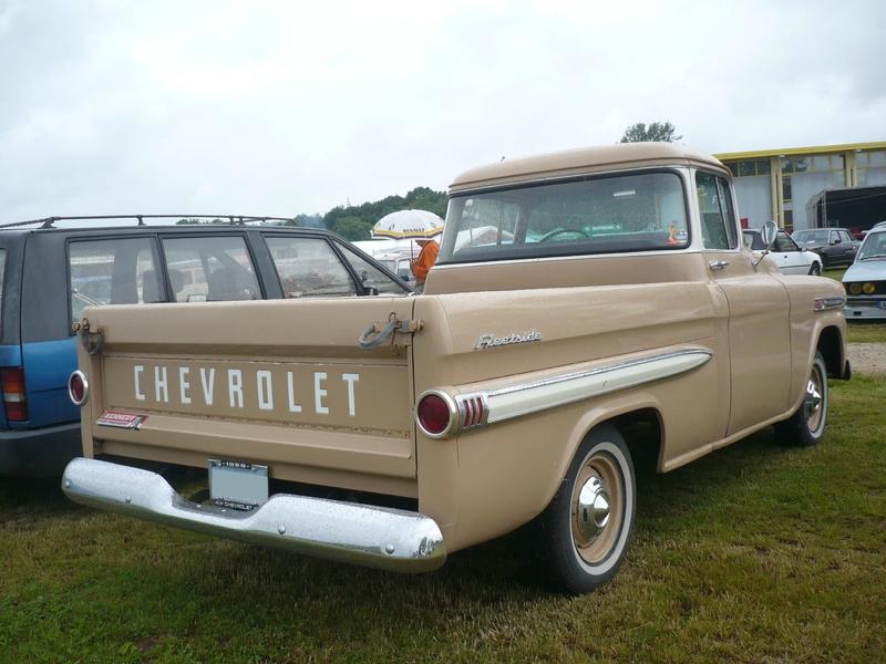 CHEVROLET Apache 3100 Fleetside pick-up 1959 Madine (2)