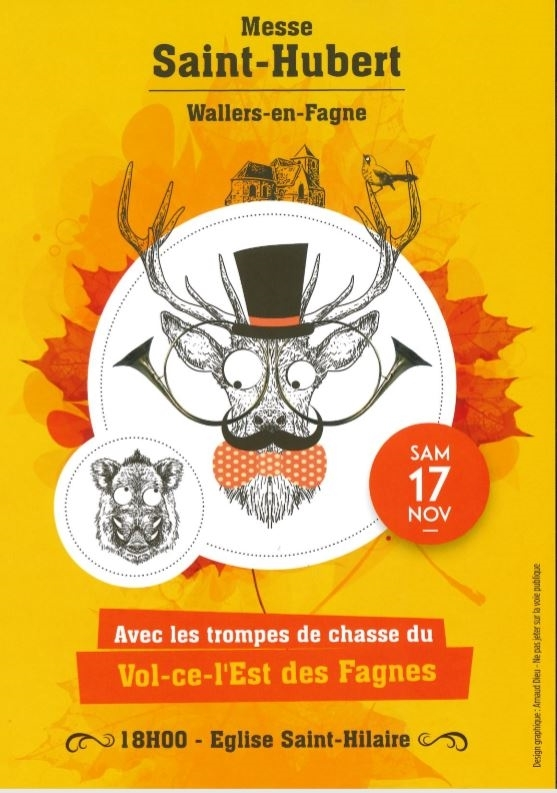 Affiche Messe St-Hubert