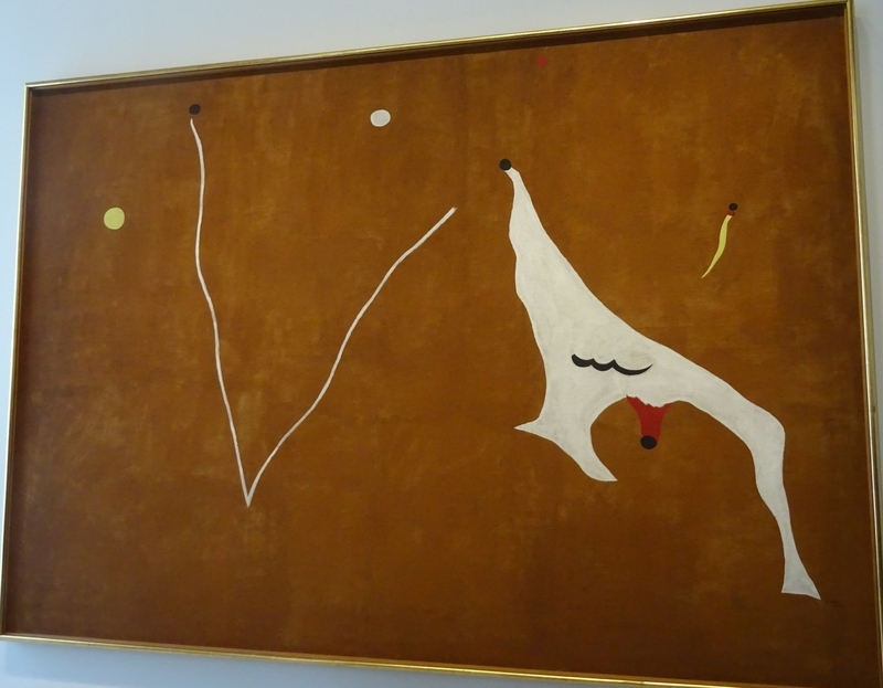 Miró Le cheval de cirque 1928