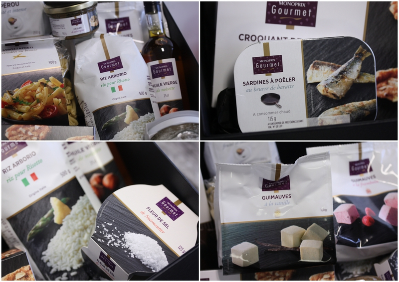 box monoprix gourmand chez requia