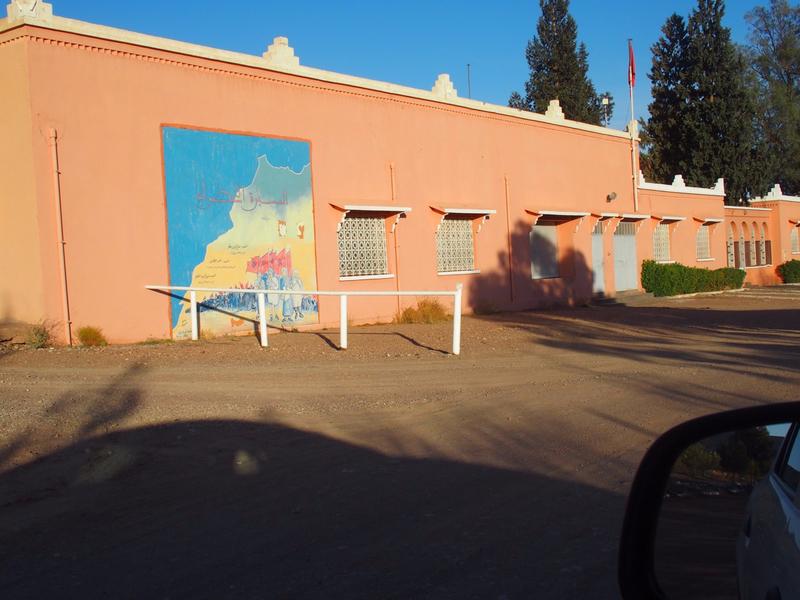 photo 2 le mur des bureaux, décoré