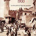 Jérusalem 1900