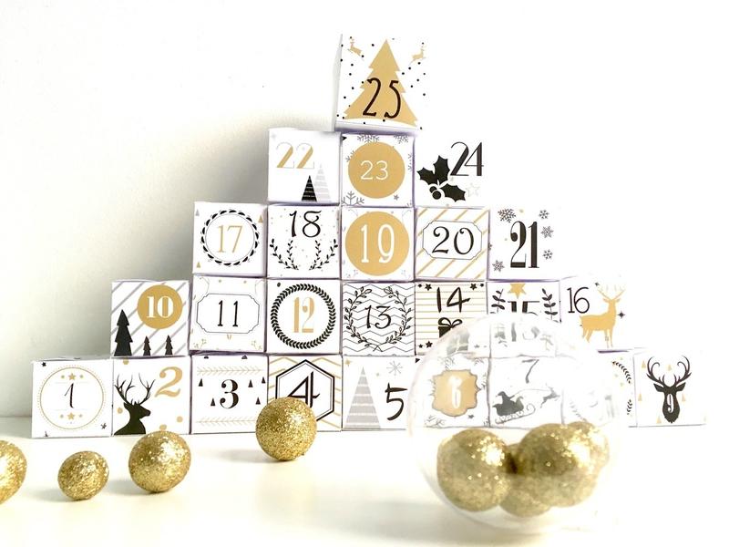 boite advent calendar