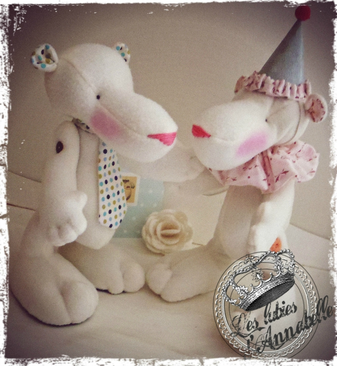 doudou ours blancs