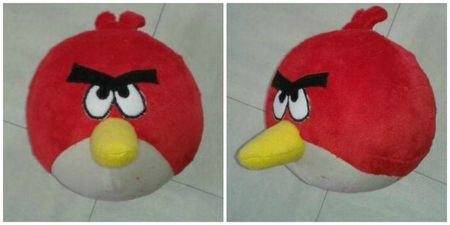 angry bird rouge