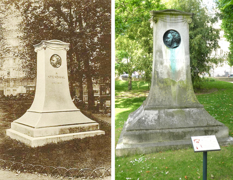 monument Stendhal, images