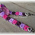 Bracelet khéops® diamond