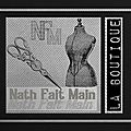 NathFaitMain- La Boutique