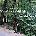 Sweater weather playlist part 2! charlie puth, justin bieber, breakbot...