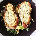 Minis bruschettas ☼ 3 fromages ☼
