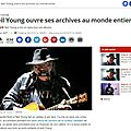 Neil young aux archives