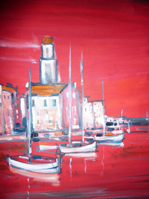 Port Rouge - Huile