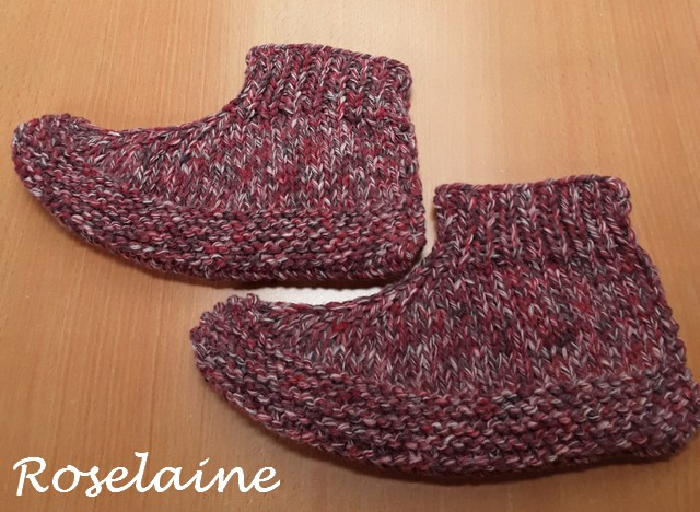 Roselaine chaussons adulte 2
