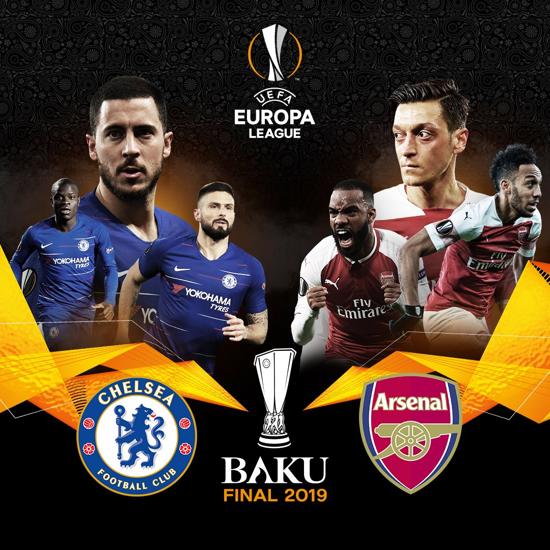Chelsea - Arsenal La Finale l''Europa League 2018 / 2019 !