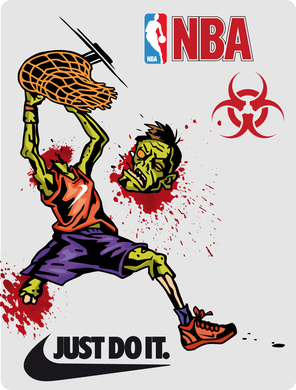 labels - Halloween - Nike - Basket - NBA
