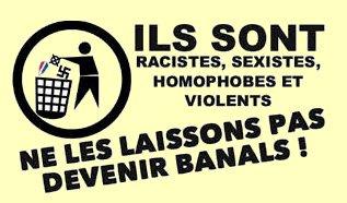 Le Mans : Contre les violences fascistes.