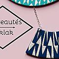 Nouvelle créatrice bijoux : laklak