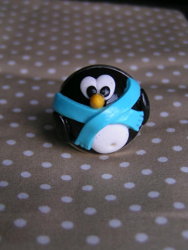 bague pingouin