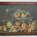 Collection ... tableau les fruits * falchetti