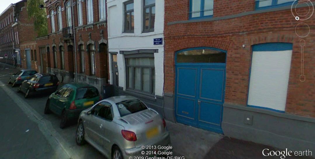 rue Cdt Driant-Renaix googleEarth