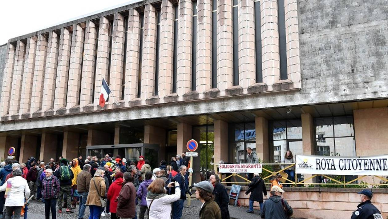 1012 -Condamnation des 7 de Briançon pour aide aux migrants