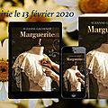 Marguerite - suzanne gachenot : sortie dans votre librairie ce jeudi 13 fevrier 2020 !
