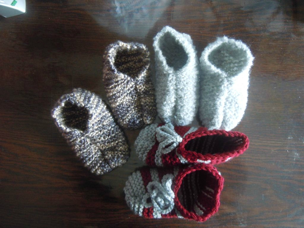 2014-10-11, chaussons
