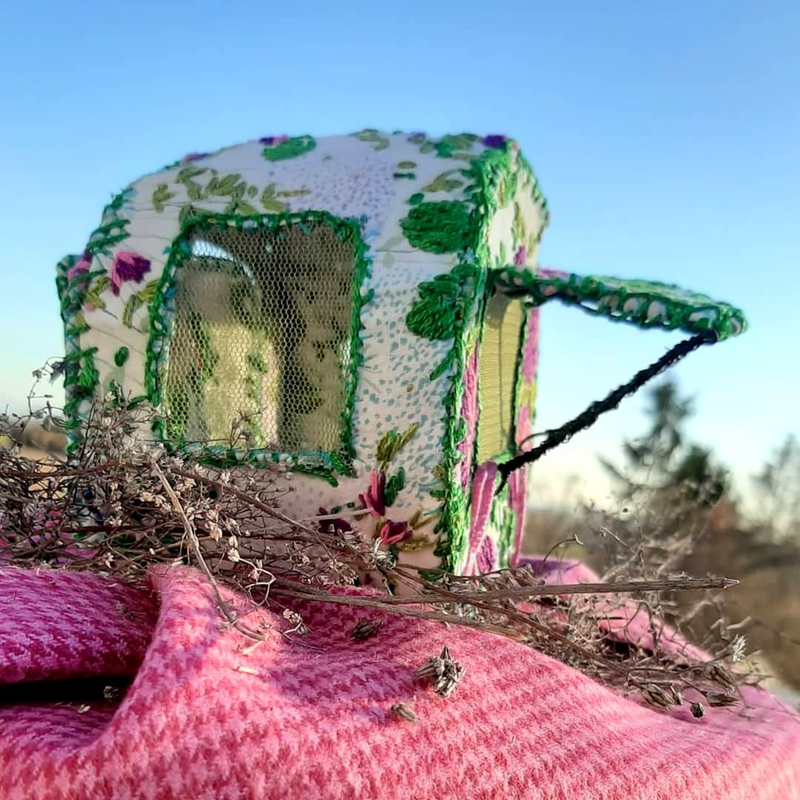 caravane bretagne justine & cow