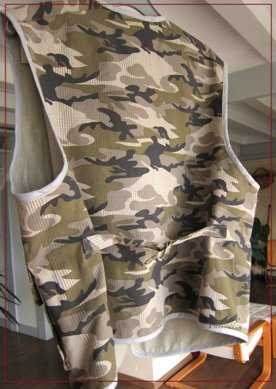 gilet militaire à poches 3