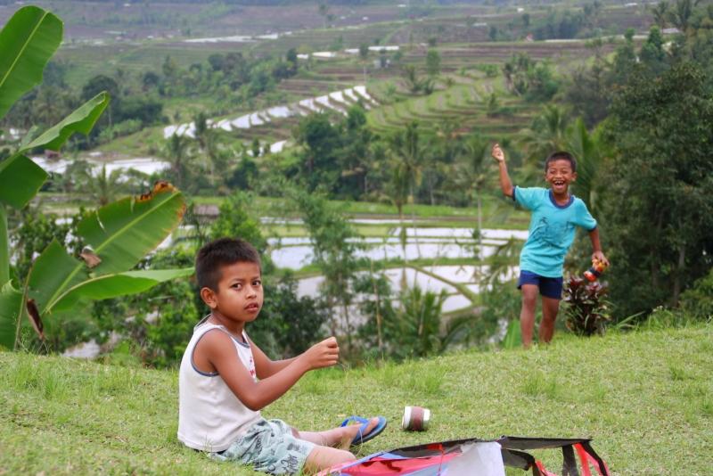 Dans les rizières de Jatiluwih